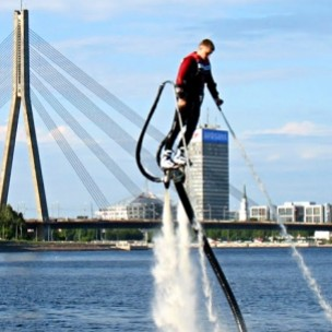 Water Jet Pack Experience