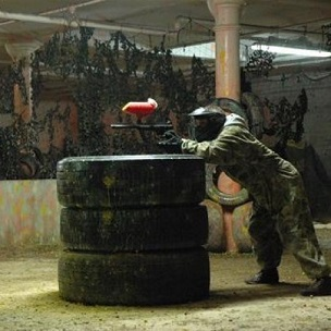 Indoor Paintball 100