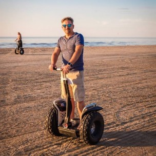 Jurmala Beach: Segways